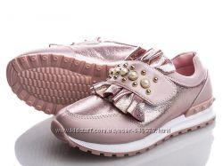 Туфли-кроссовки для модной девочки, р. 27 по оптовой цене