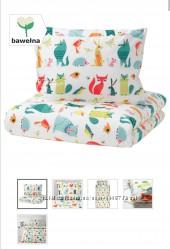 Комплект дитячої постільної білизни Ikea Постельное белье