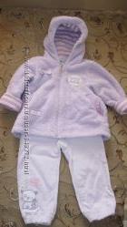 Куртка меховушка и вельветовые штанишки MMDADAK 1-2 года