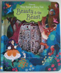 Usborne peep inside Fairytales. Детские книги на английском