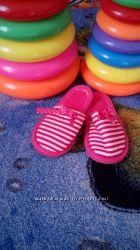 Шлёпанцы комнатные для крошечной ножки