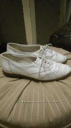 Туфли броги кожа школа