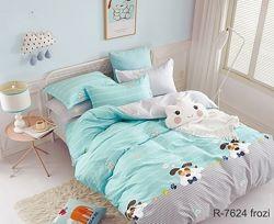 Подростковое и детское постельное белье коты котики звезды собаки