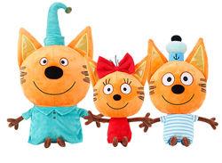 3в1 Мягкие большие игрушки - Три кота 45см-30см
