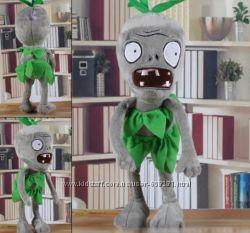 Plants vs zombies 30 см. растения против зомби мягкие пират игрушки кукл