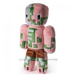 Minecraft NEW JINX  Игрушка из Майнкрафт 22 см. Zombie Pigman Свинозомби