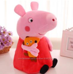 Игрушка мягкая Peppa pig из Свинка Пеппа - 30 см