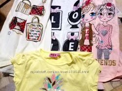 Три футболки с длинным рукавом и подарок