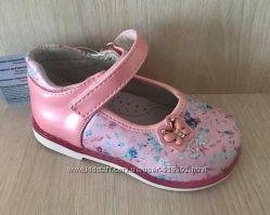 Туфли ортопедические для девочки р. 20-25 Шалунишка детская обувь ортопед