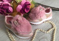Кроссовки для девочки зайцы р. 26-31