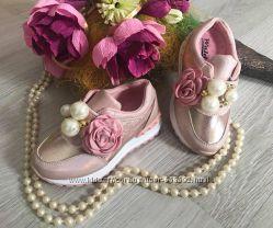 Кроссовки розовые для девочки р. 26-37