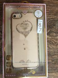Чехол для IPhone 7 Цвет золото.
