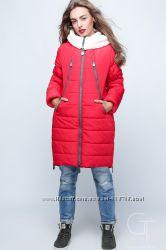 Стильная зимняя женская куртка фирмы Prunel