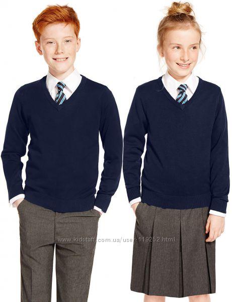 Школьный джемпер унисекс. Англия. от 6 до 9 лет.