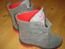 Новые зимние ботинки замш Naturino 28 р