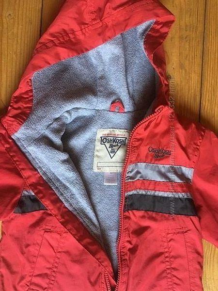 Куртка ветровка на флисе Oshkosh 18 мес