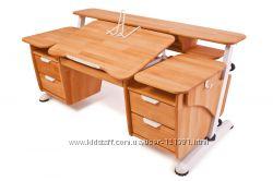 Детский стол Эргономик с двумя тумбами-бесплатная доставка