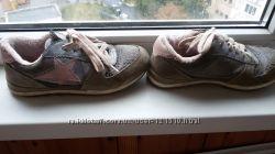 Кроссовки утеплённые 22 см