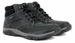 Акция. Новые, кожаные, зимние ботинки CLARKS c мембраной gore-tex 40р