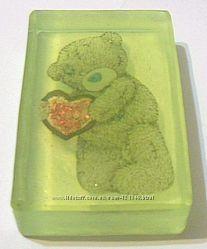 Мыло подарочное с картинками мишки Teddy