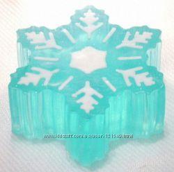 Мыло Снежинки - оригинальный подарок на Новый Год