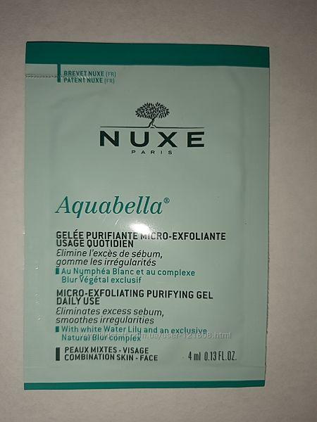 NUXE Aquabella Очищающий гель пробник 4 мл