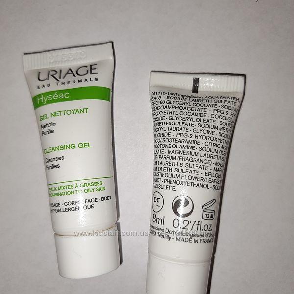 UriageHyseac Очищающий крем для тела Uriage Hyseac Body Cream 8 мл