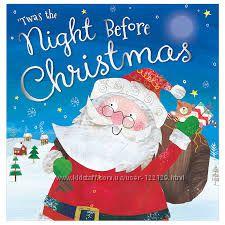 Christmas book  різдвяні книги для дітей англійською.
