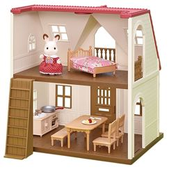 Calico Critters Red Roof Cozy Cottage Домик Сильваниан