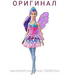 Кукла Барби Dreamtopia Fairy Doll  с летающими крыльями