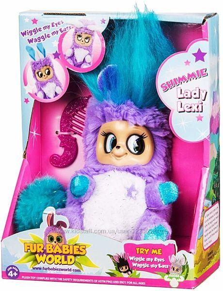 мягкая игрушка  Fur Babies World SHIMMIES - Lady Lexi