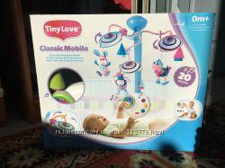 Продам классический мобиль Tiny love Веселые зверюшки с ночником