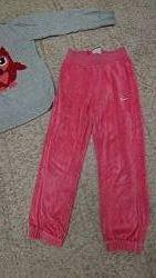 Спортивные штаны Nike, фирменные, рост 110 - 116