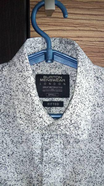 Продам фирменную рубашку Burton Menswear для мальчика 13-15 лет
