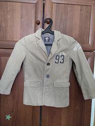 стильный  вельветовый пиджак