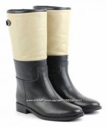 Шикарные кожаные деми сапоги BRASKA - 39, 40