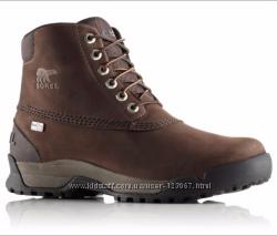 SOREL paxson 6 - шикарные кожаные ботинки - 39 - 40