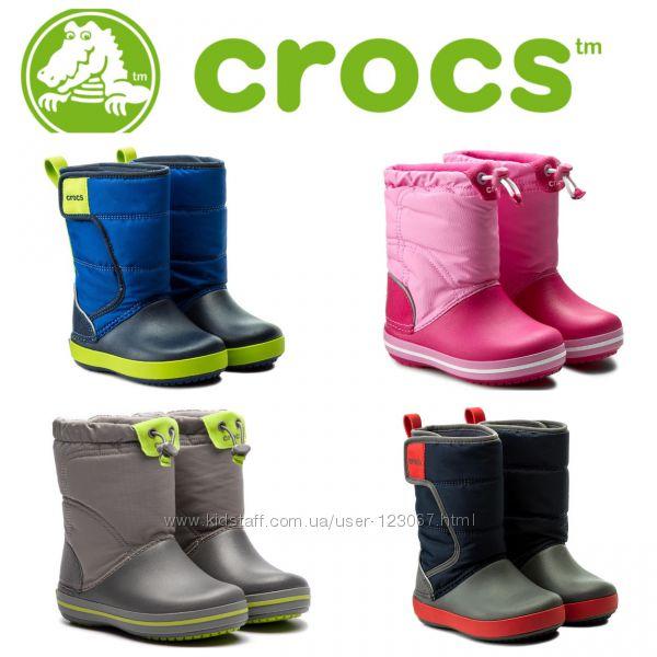 CROCS - резиновые сапожки , деми - зимние - 30, 31, 32, 33, 34, 35, 37, 38