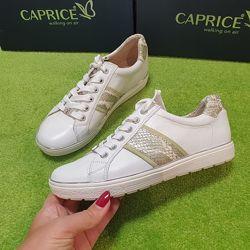 Caprice - кожаные белые кеды - 36, 37, 38, 39