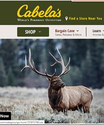 Cabelas - все для активного отдыха