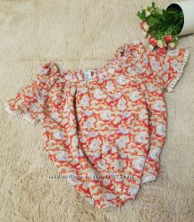 Топ блуза с цветным принтом Forever 21