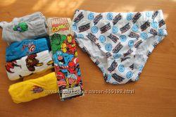 Трусики Primark для мальчика, упаковка 5 пар на 3-4 года 104 см