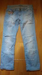 Модные рваные джинсики, 30 размер