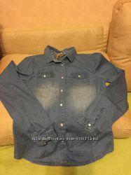 Джинсовая рубашка Cool clab