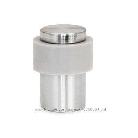 Упор дверной напольный DS-0014 сатин матовый никель