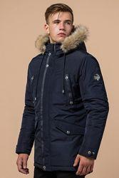 27830  Мужская зимняя куртка Braggart, тинсулейт, 2 цвета на р. 46-56