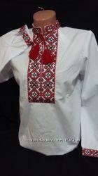 Сорочка вышиванка школьная вышиванка рубашка недорого рубашка для мальчика