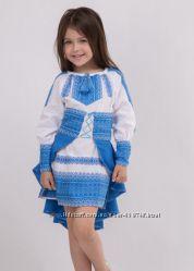 Костюм - туника и юбка Украиночка. Стильно и недорого