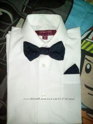 Белые рубашки для мальчика. Школьная  Большой выбор рубашек по низким ценам
