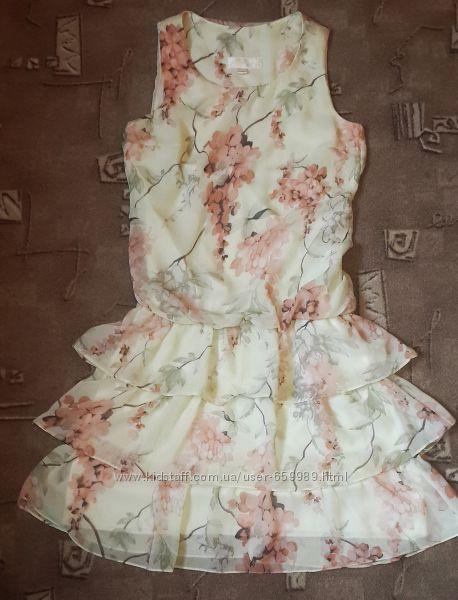 Шифоновое платье p. S